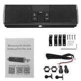 LED Manubrio Bluetooth Altoparlanti stereo per moto Sistema audio MP3 per ATV UTV 4Wheeler