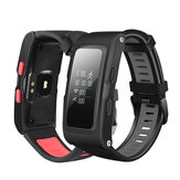 T28 0.96 polegadas OLED GPS Track Record Smart Bracelet Dynamic Coração Rate Waterproof Smart Watch
