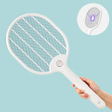 Jordan & judy 3000V Electric Mosquito Swatter Portable campeggio Travel Tre strati anti-shock elettrico Net USB Charging Mosquito Dispeller