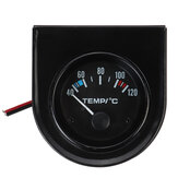 2'' 52mm 40-120℃ Universal Electric Car Water Temperature Temp Gauge LED Pointer