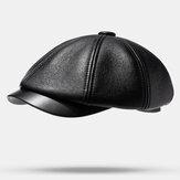 PU Berets Εξωτερική Ζεστή Καθημερινά Καπέλα Καπέλο Newboy
