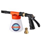 MATCC車の泡の銃の泡と調整可能な車の洗浄スプレーは、調整率ダイヤル泡のスプレーヤーは、家庭のクリーニングと庭の使用のためのガーデンホースフィット0.23ギャロン底