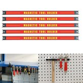 3Pcs Magnetic Tool Holder Bar Organizer Storage Rack Knife Wrench Pliers hand Tool Storage