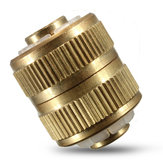 1/2 Inch 3.5cm Hose Adapter Brass Coupling Quick Fittings Coupler