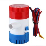 12V/24V Electric Pump 750GPH Marine Bilge Pump Submersible Boat Water Pump