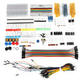 Geekcreit® Electronic Components Base Starter Kits With Breadboard Resistor Capacitor LED Jumper Cable For Arduino With Plastic Box Package