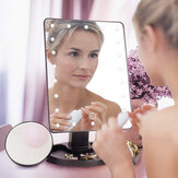 22 LED Lighted Vanity Touch Screen  360° Rotating Cosmetic Makeup LED Mirrors