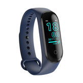 Bakeey M4 Max Kleurenscherm Polsband IP67 Bloeddruk O2 Lang Stand-by Fitness Smart Watch