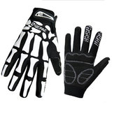 Mens Ghost Claw Human Skeleton Motorcycle Full-finger Rękawiczki Winter Warm Mittens