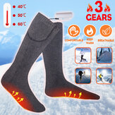 Bakeey Three Gears USB-Socken Warm Foot Treasure Elektrische Heizsocken Winter Men und Damen Foot Warmer Socks
