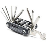15 in 1 Mini Multifunction Bicycle Repair Tool For Xiaomi M365 Scooter Screwdriver Hexagon Wrench