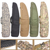 120X30X5CM Tactical Bag Heavy Duty Hiking Climbing Hunting Shooting Carry Case Bag Shoulder Bag