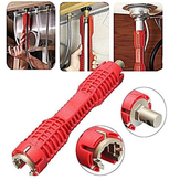 Multifunction AntiSlip Faucet Sink Installer Water Pipe Socket Wrench Spanner Bathroom Installation And Repair Tool