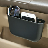 Portable Plastic Car Storage Box Car Seat Gap Pocket Phone Holder Organizer