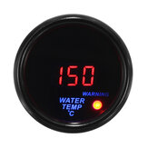 2 '' 52mm 20-150 ℃ Indicatore temperatura acqua digitale LED Display Sensore viso nero