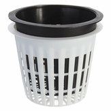 Plastic Mesh Pot Net Basket Hydroponic Aeroponic Flower Container Plant Grow Pot Cup