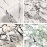 Rolo de papel de parede de mármore autoadesivo para decoração de casa adesivos de PVC para cozinha moderna