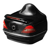 26L Motorcycle Trunk Tail Box with Taillight Black For Harley Honda Yamaha Suzuki Vulcan Cruiser