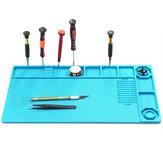 Soldering Mat Phone Repair Desk Pad Maintenance Station Magnetic Heat Insulation