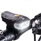 [EXCLUSIVO DE BANGGOOD ANNI VIP] XANES 600LM XPG + 2 LED Bicicleta estándar alemán inteligente Sensor Luz de advertencia Luz delantera de bicicleta Faro