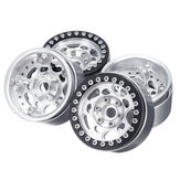4PC 1.9inch Aluminum Beadlock Wheel Rims for 1/10 RC Crawler TRAXXAS TRX-4 #45 Car Parts