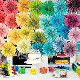 Kerstmis 12 Kleuren DIY Decoraties Bloem Comb Ball Party Hanger & Drop Ornamenten Supplies