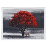 1 шт., Большое дерево, холст, картина, настенная декоративная печать, художественная картина, без рамы, настенные украшения для дома и офиса