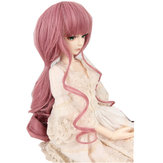 Wig Pink Curly Hair For 8-9 inch 22cm-24cm 1/3 BJD SD Doll