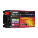 1200W Power Inverter 48/60V TO 220V Converter For Solar System Truck Rechargeable Vehicles