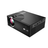COOLUX C7 Projector 1800 Lumens LED Video Portable LCD Projector For Home Cinema