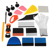 PRO Car Wrap Vinyl Tools Kit Scratch-free Scraper Razor Glove Magnesy