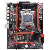 JGINYUE X79 Gaming8 Motherboard LGA2011 Turbo ATX USB3.0 SATA3.0 PCI-E NVME M.2 SSD Support DDR3 REG ECC RAM and Xeon E5 V1 V2 CPU