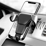 Gravity Linkage Automatical Lock 360° Rotation Car Mount Air Vent Holder Stand for Xiaomi Mobile Phone 4-6