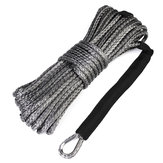 1/4 Inch x 50 Inch 7000 LB Synthetic Winch Rope Line Cable With Rock Guard For ATV UTV