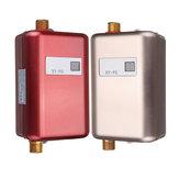 220V3.8KWLCDelektrycznypodgrzewaczbezzbiornikowy podgrzewacz ciepłej wody do łazienki Kitchen Sink Faucet