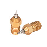 BIGTREETECH® Budaschnozzle1.1 Brass Nozzle Airbrush 1.75MM 0.2/0.3/0.4/0.5MM Size for Ender-3 CR-10 V6 j-head Hotend 3D Printer Parts