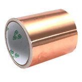 100mm x 5M Pure Copper Foil EMI Single Side geleidende gitaar afscherming tape