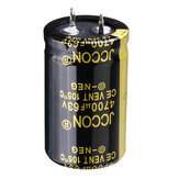 3Pcs 4700UF 63V 25x40mm Radial Aluminium Electrolytic Capacitor High Frequency 105°C