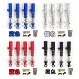 Amortecedor de metal para WPL C14 C24 C34 C44 MN D90 D91 MN45 MN96 MN99 MN99S Peças de carro RC
