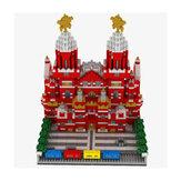 WLtoys YZ067 2384 шт. Московская Красная Площадь Головоломка Собраны Строительные Блоки Крытый Игрушки