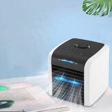 12W Desktop-airconditioner 2 versnellingen 90 ° verstelbare koelventilator USB-luchtbevochtiger Travel Home Office
