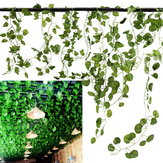 5 tipi 2.1M 1PC artificiale finto giardino Hanging Hanging Vine Wedding Decor