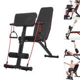5-in-1 Adjustable Bench Dumbbell Stool Abdominal Training Exercise Bench Fitness Home