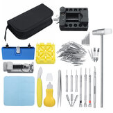 168pcs Watch Repair Tools Kit Clock Bande Strap Cover Remover Opener Tournevis