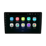 Universal 10.1 بوصة for أندرويد 8.1 Radio Car 1G + 32G Multimedia MP5 Player 2 Din GPS WIFI bluetooth FM Rear الة تصوير