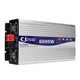 ذكي شاشة محض موجة جيبية القوة العاكس 12V / 24V إلى 220V 3000W / 4000W / 5000W / 6000W المحول