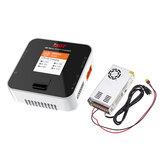 ISDT Q6 Nano BattGo 200W 8A Lipo Batería Cargador con Hobbyporter 24V 16.7A 400W Adaptador de fuente de alimentación US Enchufe