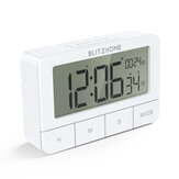 BlitzHome BH-TR01 Chronograph Electric Clock Kitchen Timer Multi-mode Large HD LCD Screen Alarm Clock