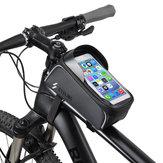 BIKIGHTBicicletaBicicletaTubodelcuadro delantero Bolsa Impermeable Pantalla táctil 6.0 '' Teléfono Caso Ciclismo Bolsa
