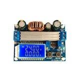 4X Módulo de fonte de alimentação de corrente constante estabilizada CC Regulador ajustável Buck-boost